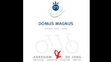 Domus Magnus via Aardoom & de Jong logo